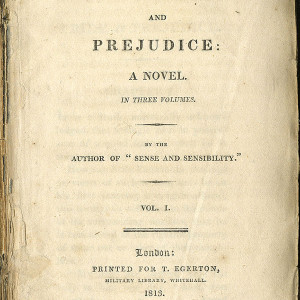 """Pride and Prejudice"" by Jane Austin."