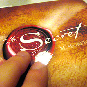 """The Secret"" by Rhonda Byrne."